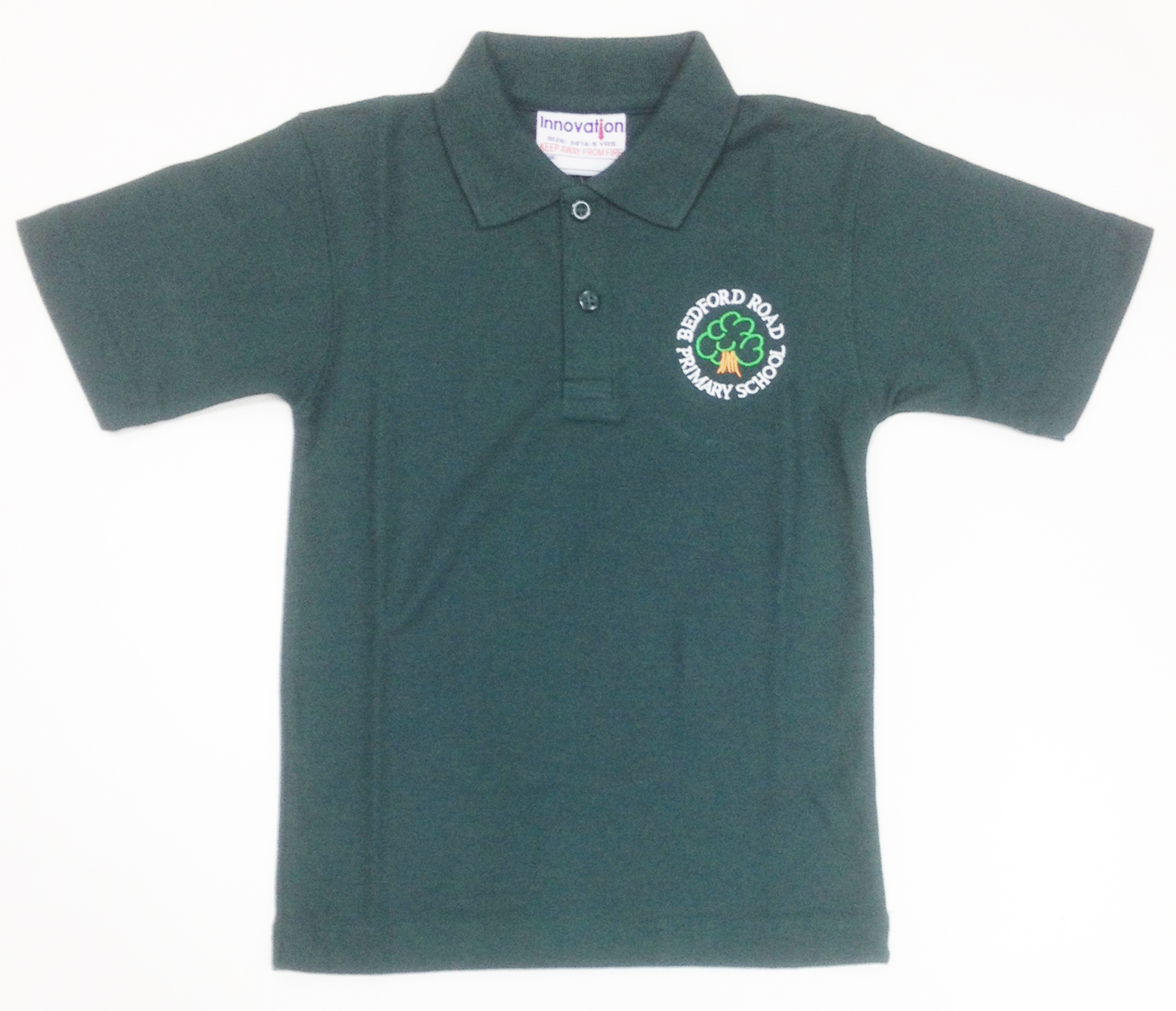 Bedford Road Primary Polo Shirt (Bottle)