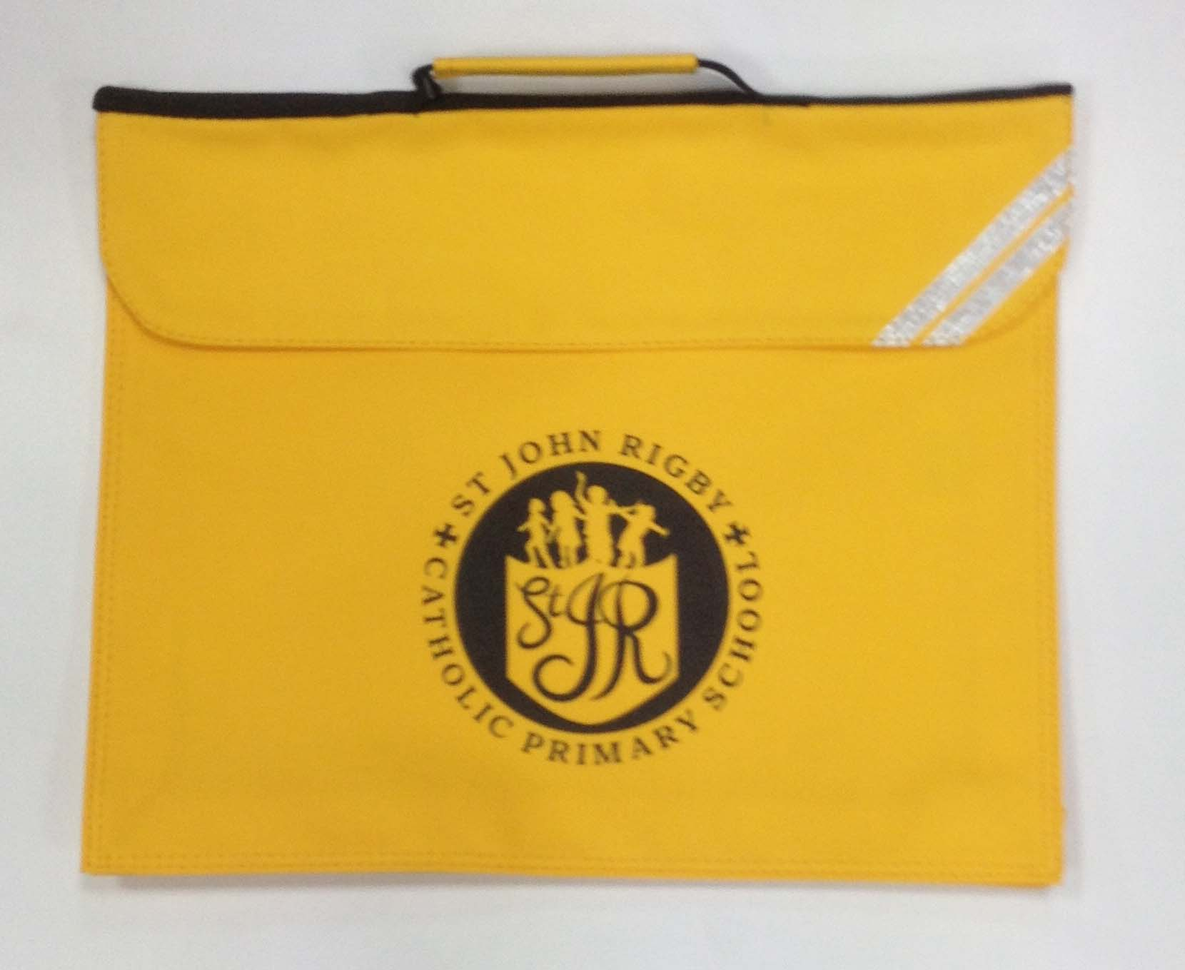 St John Rigby Expandable Book Bag (Yellow)