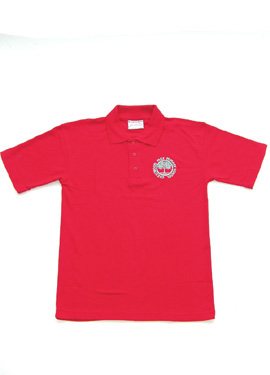 Crestwood Park Primary Polo Shirt (Red)