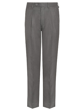 BOYS COMFORT FIT  ELASTICATED TROUSER