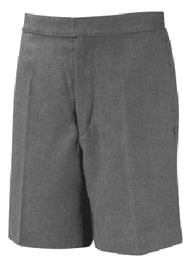 BOYS SCHOOL SHORTS - ELASTIC WAIST