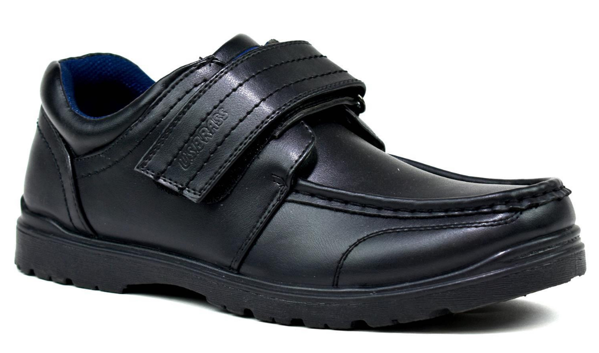 US BRASS MENS SINGLE VELCRO SHOES