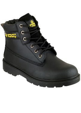 AMBLERS SMOOTH LEATHER UPPER UNISEX SAFETY BOOTS - S1