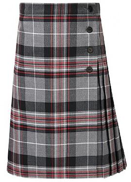 KCA Tartan Kilt Skirt - Josens Uniforms