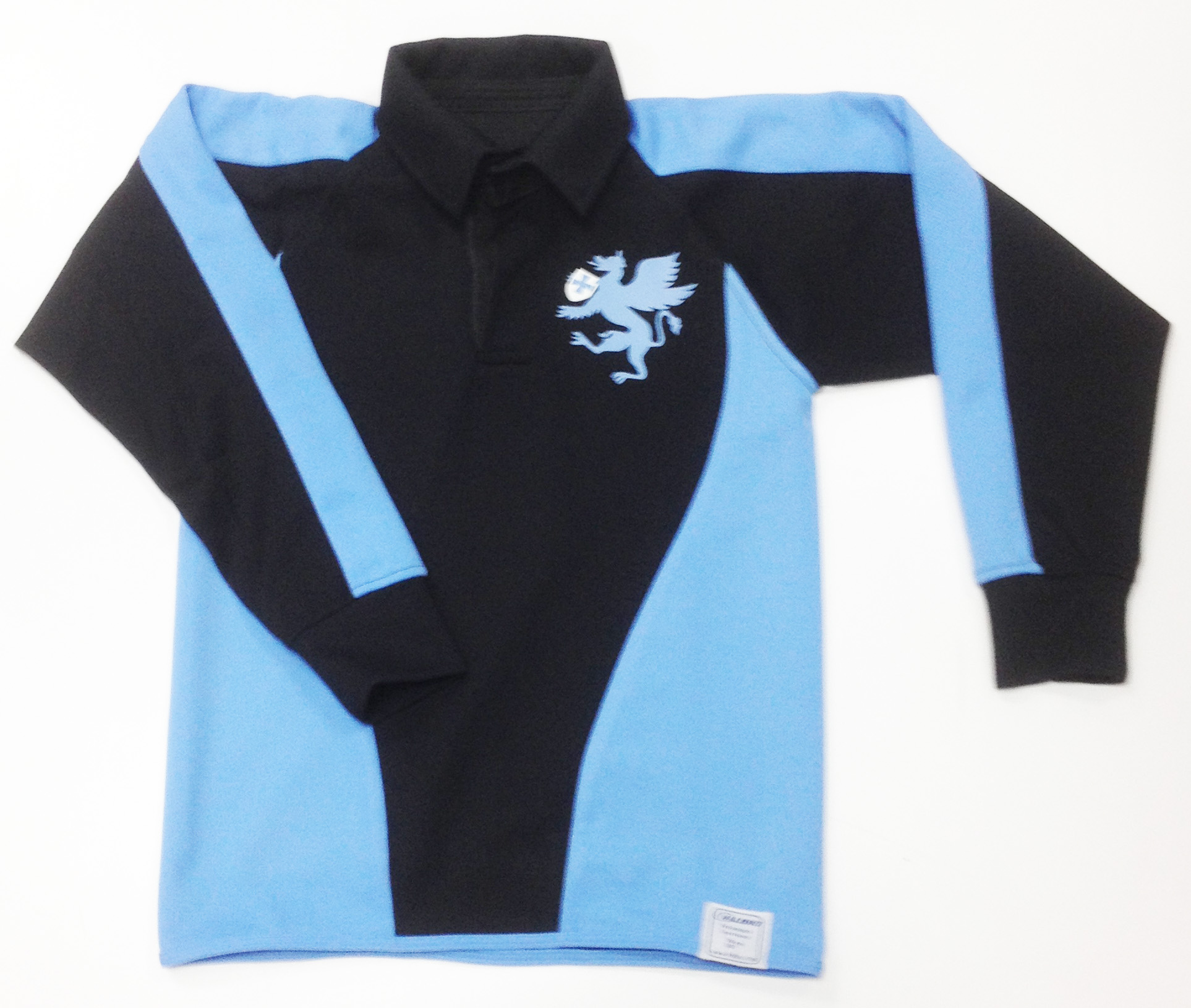 Mark Rutherford Rugby/Hockey Unisex Shirt (Black/Blue)