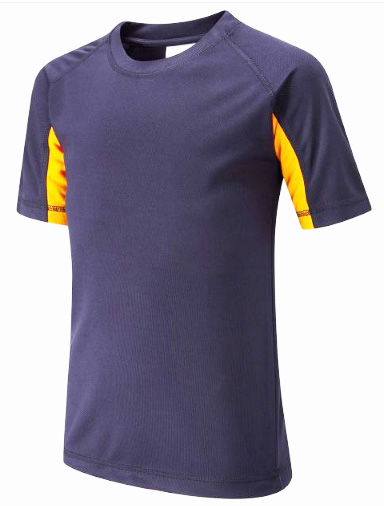 Falcon Primary Contrast Underarm Panel T-Shirt